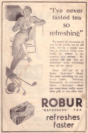 Robur ad Leader 1930s