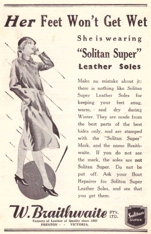 Solitan ad Leader 1935