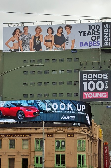 Bonds 100 Years of babes edit